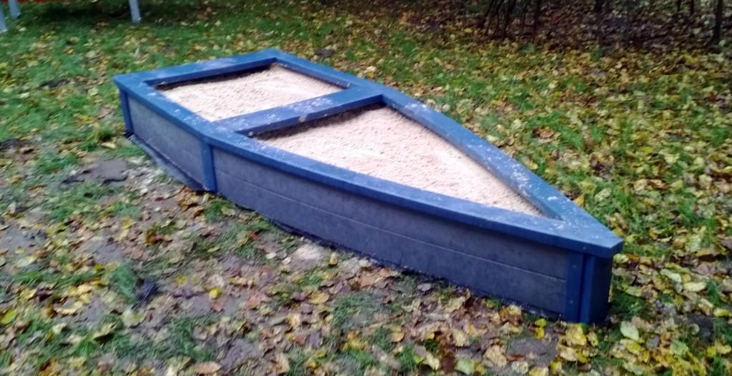 Manchmal reichen auch kleinere Sandkästen, z.B. für den U3-Bereich