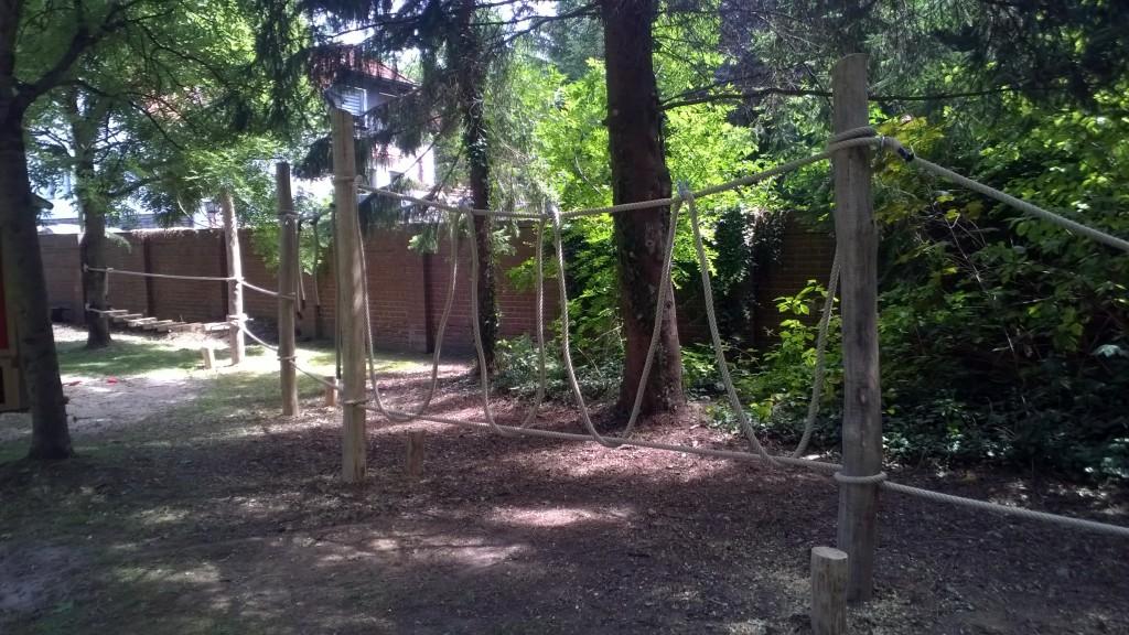 Seilanlage aus 30mm Seilen